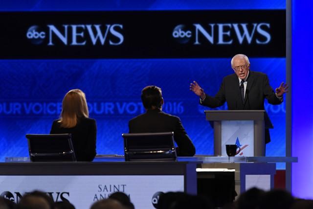 Sen. Bernie Sanders at Saint Anselm College - ABC/ IDA MAE ASTUTE