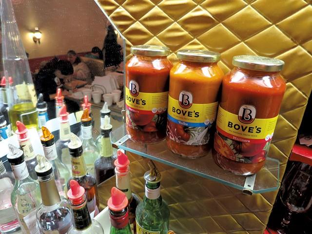 Bove's sauces - PHOTOS: MATTHEW THORSEN