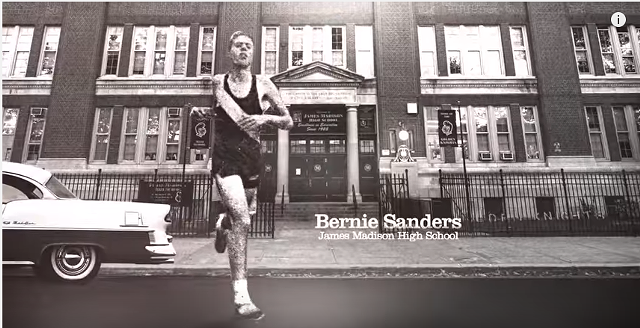 Sen. Bernie Sanders (I-Vt.) is televising a campaign ad in Nevada for the first time. - SANDERS CAMPAIGN
