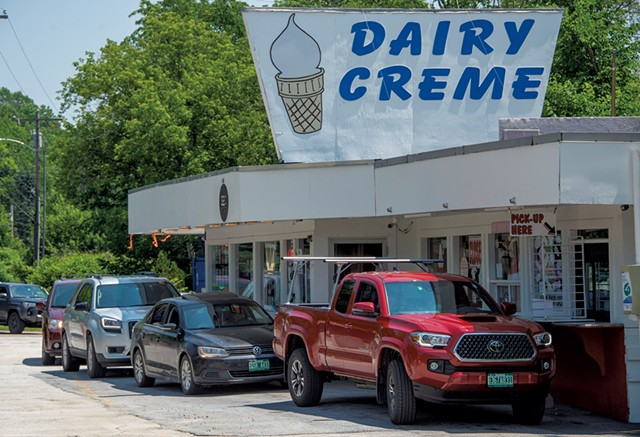 Drive-through service at the Dairy Creme in Montpelier - JEB WALLACE-BRODEUR