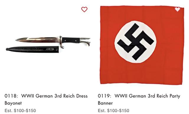 Auction items - SCREENSHOT