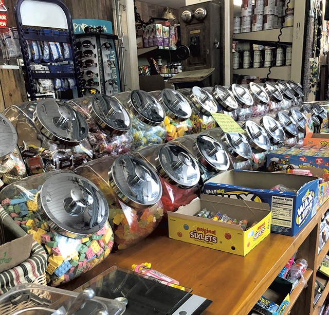 Penny candy at Wayside Country Store - JORDAN BARRY ©️ SEVEN DAYS