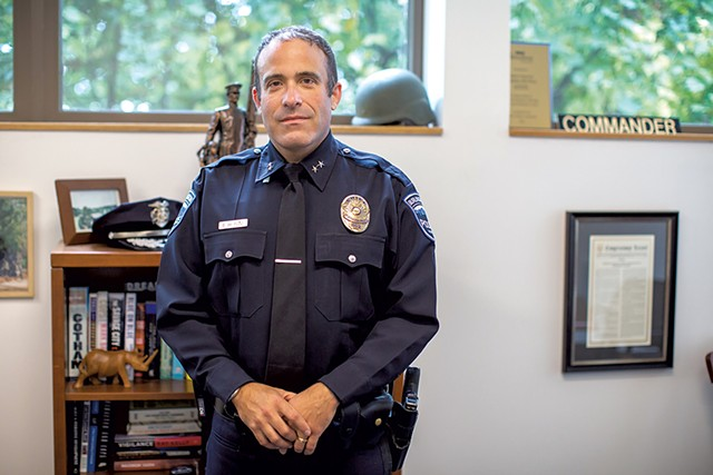 Former Burlington police chief Brandon del Pozo - FILE: LUKE AWTRY ©️ SEVEN DAYS