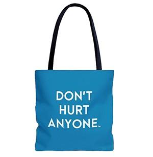A tote bag - COURTESY