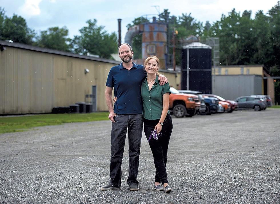 Eric and Laura Sorkin - GLENN RUSSELL ©️ SEVEN DAYS