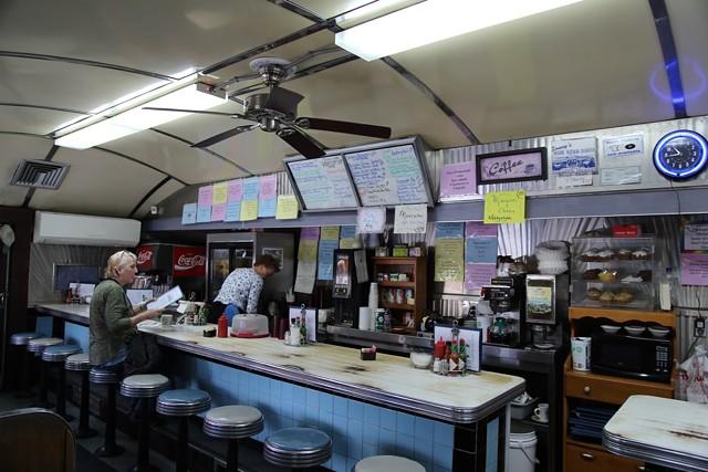 Sonny's Blue Benn Diner in April 2019 - FILE: JANA SLEEMAN ©️ SEVEN DAYS