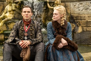 "Nicholas Hoult and Elle Fanning in ""The Great"" - OLLIE UPTON/HULU"