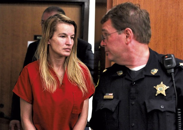 Jody Herring at her arraignment - COURTESY OF TOBY TALBOT/ASSOCIATED PRESS
