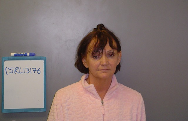 A mug shot of Catherine Nelson taken Saturday night in Rutland - RUTLAND POLICE DEPARTMENT