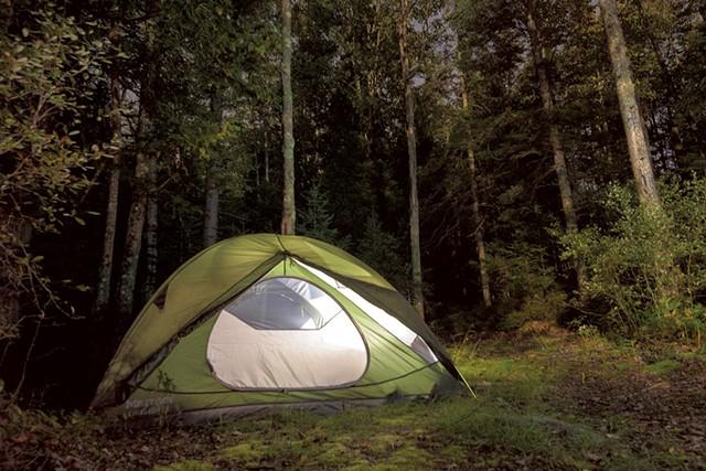 Camping by the Canadian border - NATHANAEL ASARO