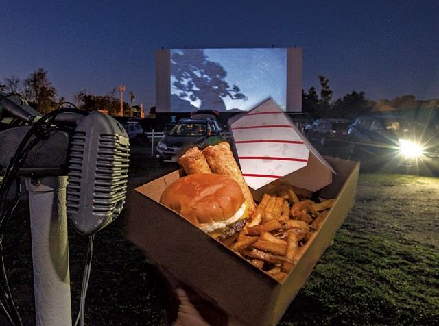 Goodies from the snack bar at the Sunset Drive-In - GLENN RUSSELL ©️ SEVEN DAYS