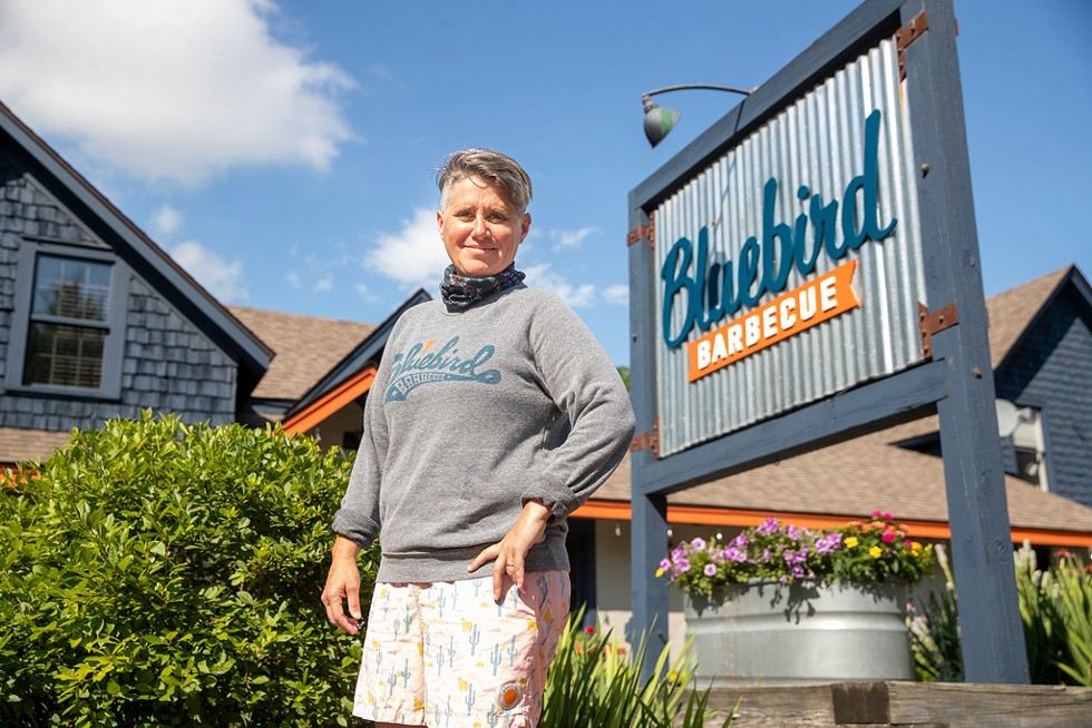 Sue Bette of Bluebird Barbecue - JAMES BUCK