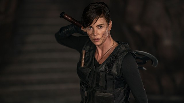 Charlize Theron as Andy - AIMEE SPINKS/NETFLIX