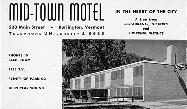 Motel  postcard from 1959 - UVM SPECIAL COLLECTIONS