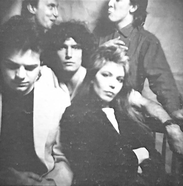 The Decentz (from left): Gordon Stone, Jim Ryan, Peter Torrey, Pamela Polston and Brett Hughes - COURTESY OF DAVID ROBY