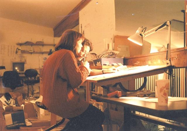 Pamela Polston and Paula Routly - COURTESY OF PAULA ROUTLY ©️ SEVEN DAYS