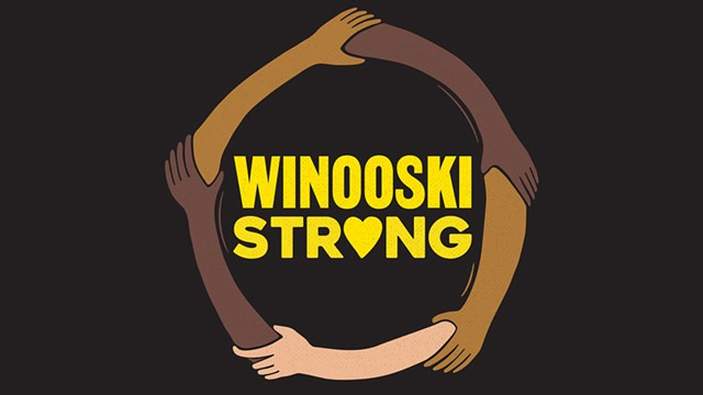 """Winooski Strong"" T-shirt design - COURTESY OF CRAIG MITCHELL"