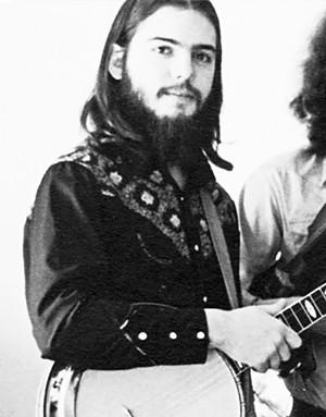 Gordon Stone in Pine Island, 1974 - COURTESY