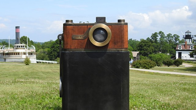 A sculpture by Peter Kirkiles - COURTESY OF SHELBURNE MUSEUM