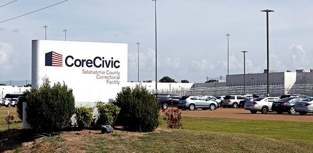 CoreCivic's prison in Tutwiler, Miss., in 2018 - AP PHOTO/ROGELIO V. SOLIS