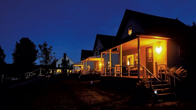 Quimby Country cabins on Big Averill Lake - COURTESY OF QUIMBY COUNTRY