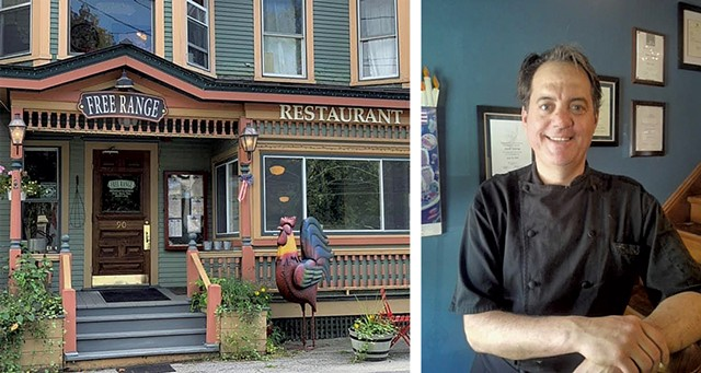 Free Range in Chester and chef-owner Jason Tostrup - COURTESY OF  JASON TOSTRUP