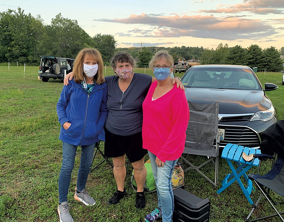 From left: Marilyn Hostetler, Reeva Murphy and Peggy Wark - EVA SOLLBERGER ©️ SEVEN DAYS