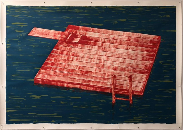 """""""The Raft"""" by Patrick Dunfey - COURTESY OF WENDELL ANDERSON"""