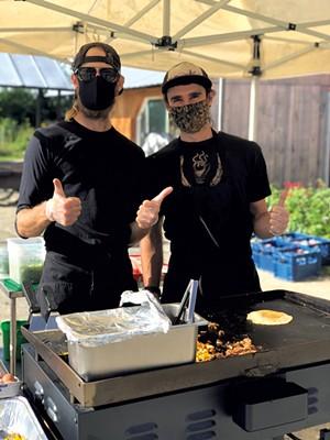 Mike Proia (left) and Alex Gemme - JORDAN BARRY ©️ SEVEN DAYS