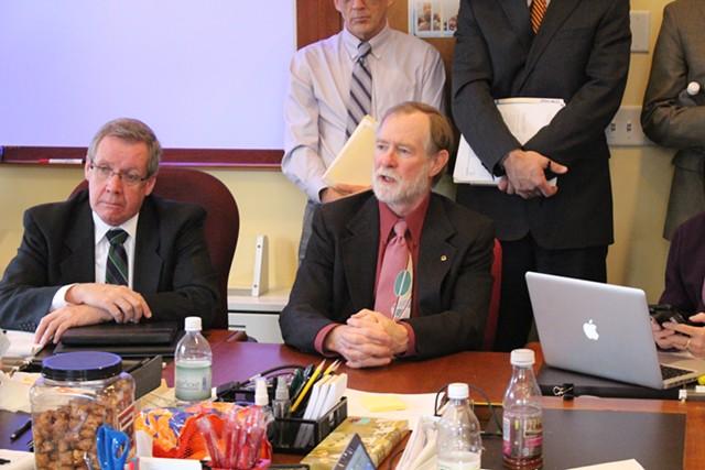 Rep. David Sharpe testifies Wednesday before the House Ways & Means Committee. - PAUL HEINTZ