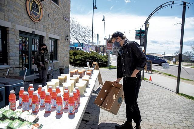 ShiftMeals outside the Skinny Pancake in Burlington in May - FILE: JAMES BUCK