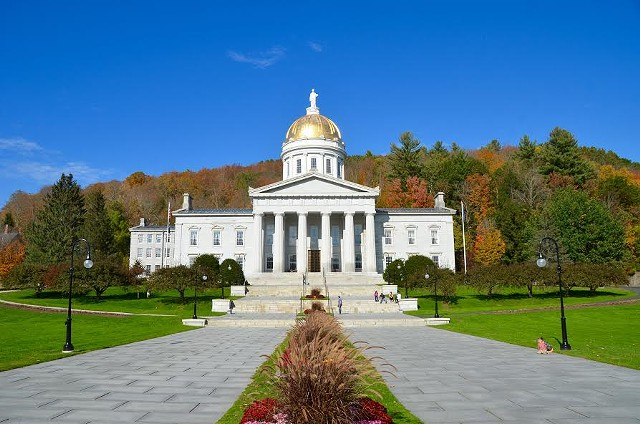 The Vermont Statehouse - FILE ©️ SEVEN DAYS