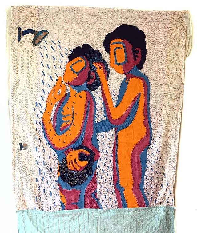 """""""Period Shower"""" (detail) by Erin Bundock - PAMELA POLSTON ©️ SEVEN DAYS"""