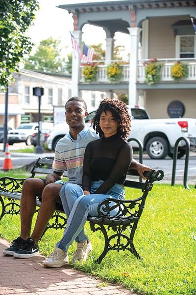 Jamel Miller and Rose Archer - CALEB KENNA