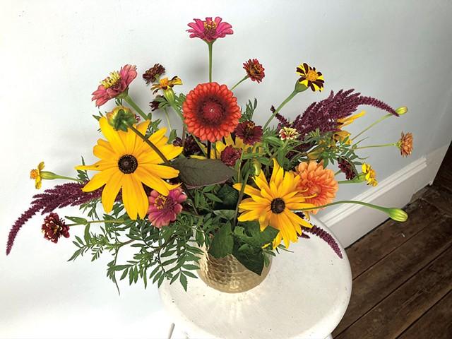 Flower arrangements by Kelsey Adams of West Lane - COURTESY OF KELSEY ADAMS