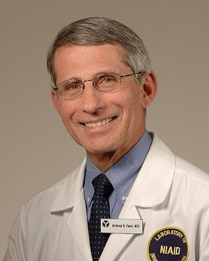 Dr. Anthony Fauci - COURTESY OF NATIONAL INSTITUTE OF ALLERGY AND INFECTIOUS DISEASES