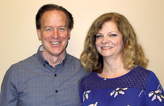 Mark and Gail Elvidge - COURTESY OF VERMONT NUT FREE CHOCOLATES