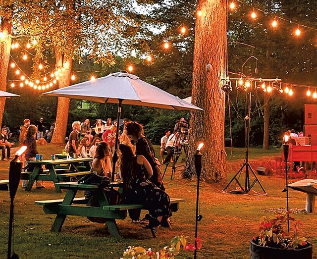 Live music in the garden at Stowe Cider - COURTESY OF STOWE CIDER