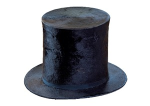 Abraham Lincoln's stovepipe hat - COURTESY OF HILDENE, THE LINCOLN FAMILY HOME