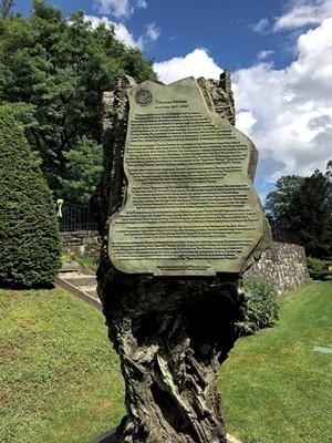"Sculpture in the ""Hudson on the Garden"" exhibit - SALLY POLLAK ©️ SEVEN DAYS"