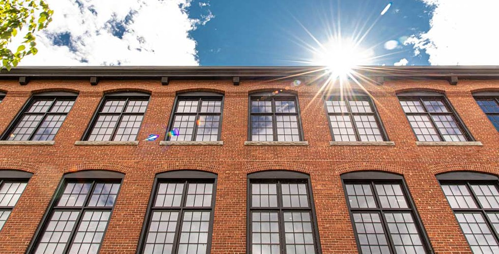 The Champlain Mill in Winooski - COURTESY OF SARAH LAVOIE FOR MYCUBE