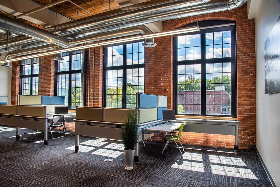 MyCube work spaces - COURTESY OF SARAH LAVOIE FOR MYCUBE