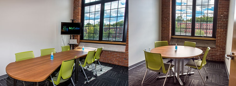 MyCube conference rooms are also for rent - COURTESY OF SARAH LAVOIE FOR MYCUBE