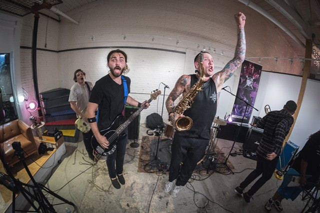 Keep Flying performing live at Big Heavy World - COURTESY OF BIG HEAVY WORLD/KYLE TANSLEY PHOTOGRAPHY