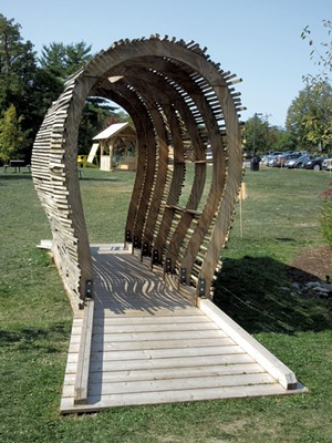 """""""Bridge-ette"""" by Vermont Integrated Architecture, Nop's Metalworks and PC Construction - AMY LILLY"""