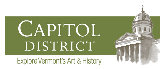 New logo for Montpelier's Capitol District - COURTESY OF OFFICE OF THE STATE CURATOR
