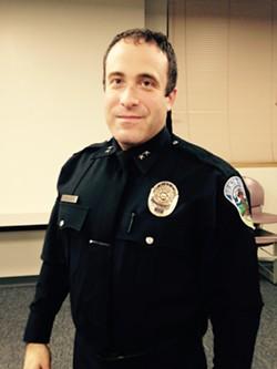 Burlington Police Chief Brandon del Pozo - MOLLY WALSH/SEVEN DAYS