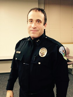 Burlington Police Chief Brandon del Pozo - MOLLY WALSH/SEVEN DAYS