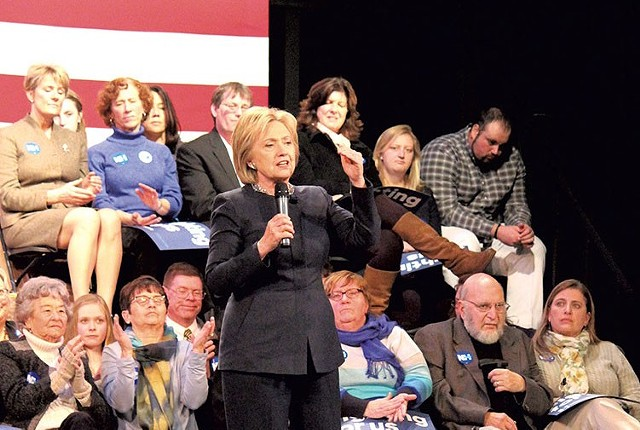 Hillary Clinton - PAUL HEINTZ