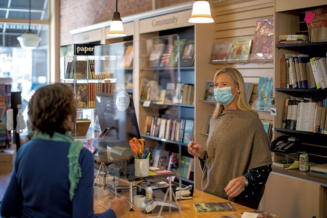 Becky Dayton at the Vermont Book Shop - CALEB KENNA